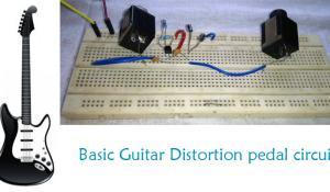 Guitar Distortion Pedal Circuit