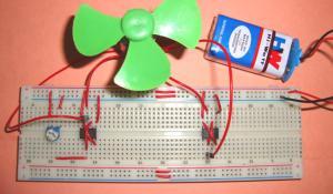H Bridge Motor Driver Circuit using IC 555