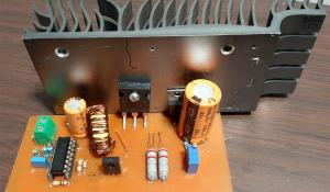 High Power Boost Converter Circuit using TL494