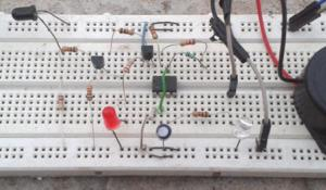 Infrared Detector Circuit using 555 Timer IC