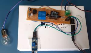 IR based Motion Sensor Circuit using 555 Timer IC