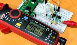 Instrumentation Amplifier Circuit using Op-Amp