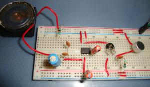 LM386 Based Audio Amplifier Circuit