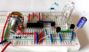 Long Range IR Transmitter Circuit