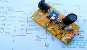 MPPT Solar Charge Controller Circuit using LT3562