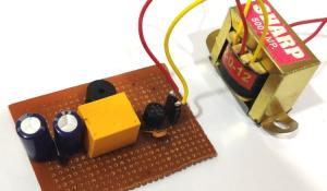 Mains Power Supply Failure Alarm Circuit