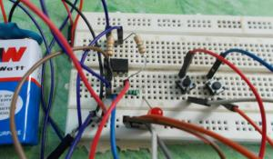 1 Bit Memory Cell using 555 Timer IC