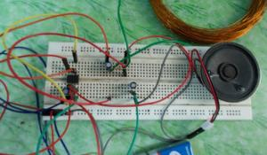 Simple Metal Detector Project using 555 Timer IC
