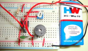 Electronic Mosquito Repellent Circuit using 555 Timer IC