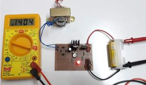 Ni-Cd Battery Charger Circuit