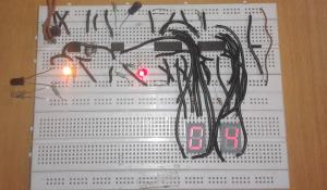 2 Digit Object/Product Counter Circuit