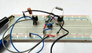 Overcurrent Protection using Operational Amplifier