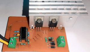 PWM Inverter Circuit using TL494
