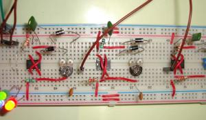 RGB LED Bulb using 555 Timer ICs