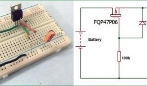 Reverse Polarity Protection Circuit