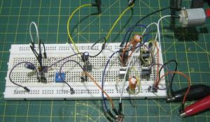 Simple H-Bridge Motor Driver Circuit using MOSFET