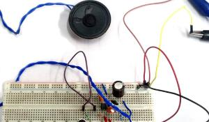 Simple Microphone to Speaker Circuit