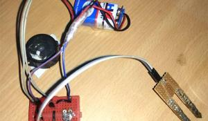 Simple Soil Moisture Detector Circuit