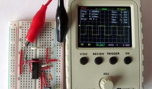 Square Wave Generator Circuit using 4047 IC