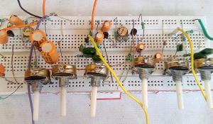 Stereo Audio Pre-Amplifier Circuit using Transistor