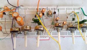 Stereo Audio Pre-Amplifier Circuit using Transistor