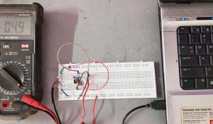 +5V and -5V Dual Power Supply Circuit Setup