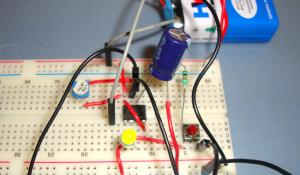 1 Minute Timer Circuit using IC 555