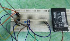 Simple Touch Switch using 555 Timer IC