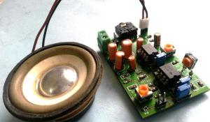 Voice Modulator Circuit using LM358 and LM386