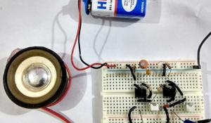 Ding Dong Sound Generator Door Bell Circuit using 555 Timer