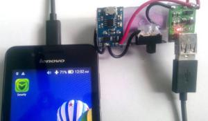 DIY Portable Power Bank Circuit to Charge Your Cell Phone