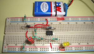 Op-amp IC LM741 Tester Circuit