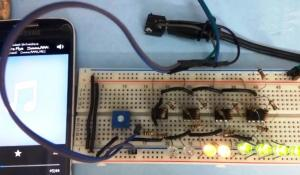 Simple VU Meter Circuit using LM358