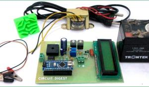 12v Battery Charger Circuit using LM317