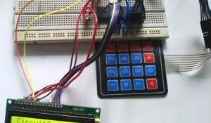 4x4 Matrix Keypad Interfacing with PIC Microcontroller