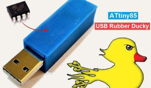 DIY ATtiny85 USB Rubber Ducky