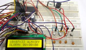 AVR Microcontroller Based Digital Alarm Clock