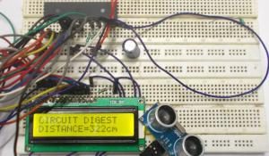 Distance Measurement using Ultrasonic Sensor and AVR Microcontroller