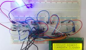 Digital Ammeter using AVR Microcontroller