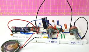 Arduino Based FM Radio using RDA5807