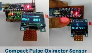Arduino Based Pulse Oximeter Sensor Circuit