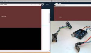 Create a Chat Room using Arduino and nRF24L01