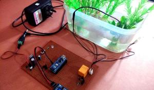 Arduino Controlled Water Fountain using Sound Sensor