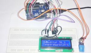 Arduino Uno Humidity Sensor Project