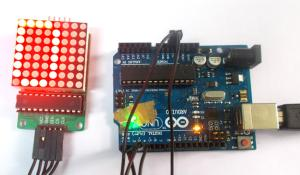Arduino 8x8 LED Marix
