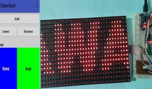 Arduino LED Score Board