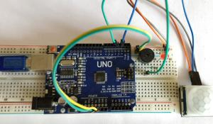 Arduino Motion Sensor/Detector Project using PIR Sensor