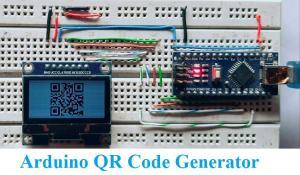 Arduino QR Code Generator