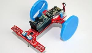 Arduino RC Car using Coreless DC Motors and nRF24L01 RF Module