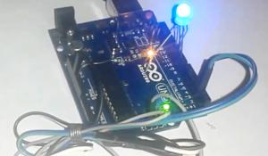Arduino RGb LED Controller over WiFi